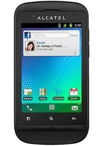 Resetear Android en el Alcatel OT-918