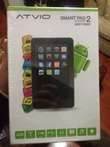 Resetear Android Atvio Smartpad 2