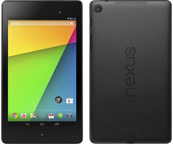 Resetear Google Nexus 7 edición 2013