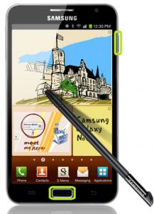 Resetear Android en el Samsung Galaxy Note 2