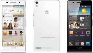 Huawei Ascend P6 S.
