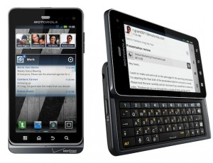 Resetear Android Motorola DROID 3