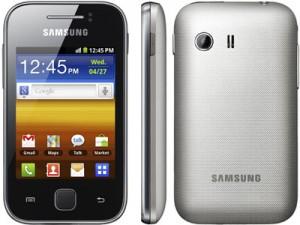 Resetear Android en el Samsung Galaxy Y S5360