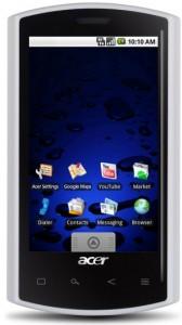 resetear Android en el teléfono Acer Liquid E