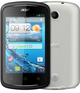 Acer Liquid Z2 - Resetear Android