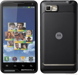 Resetear Android en el Motorola Motoluxe