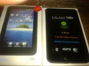 Resetear Android en el Samsung Galaxy Tab