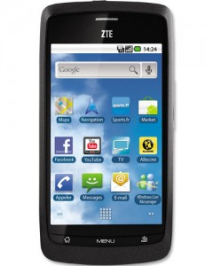 Resetear Android en el ZTE Blade